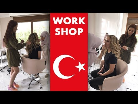 Выездной мастер-класс в Турции. День 1. Локоны. Workshop In Turkey.