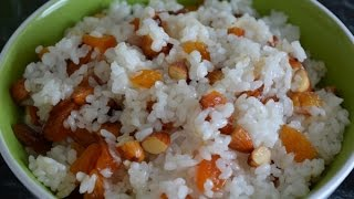 Сладкий рис  Сладкий плов