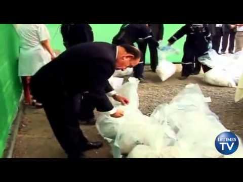 Peru Burns over Four Tones OF Confiscated Cocaine and Marijuana