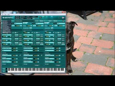 Absynth 5 Tutorial 1 , intro first overview