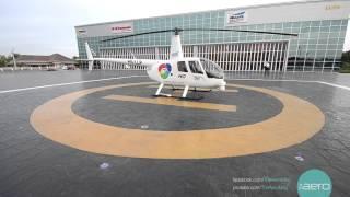 Heliluck Aviation Unveils New Hangar เผยโฉมโรงจอดเฮลิคอปเตอร์ เฮลิลัคก์ เอวิเอชั่น