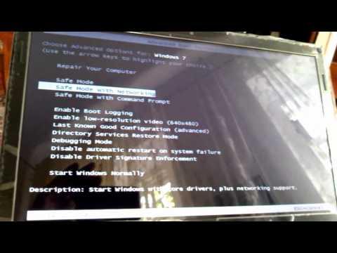 Восстановление работоспособности Windows 7 после вирусного заражения