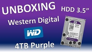 Video Unboxing Disco Duro Western Digital Purple 4 TB download MP3, 3GP, MP4, WEBM, AVI, FLV November 2017
