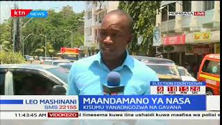 Police lob teargas on Mombasa County protesters
