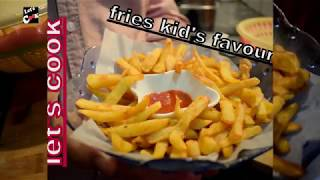KFC STYLE FRENCH FRIES KIDS SPECIAL FRIES  RECIPE BY LET