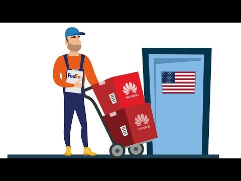 FedEx apologizes for diverting Huawei parcels to U S