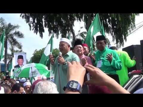 (PRK Sungai Besar) Ucapan dan Taujihad Oleh Dato' Tuan Ibrahim Tuan Man,Timbalan Presiden PAS