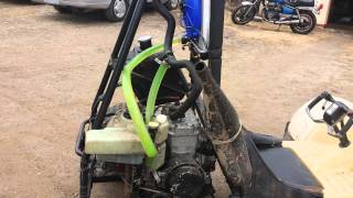 Honda Odyssey fl250 with 470 snowmobile engine