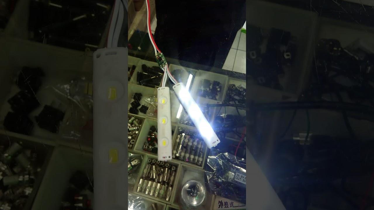 Modul Led Flip Flop SMD 12 Volt 2 Ampere & Modul Led Flip Flop SMD 12 Volt 2 Ampere - YouTube