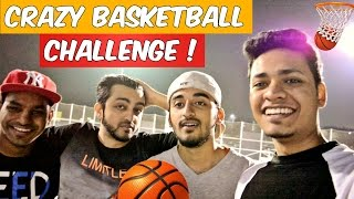 CRAZY BASKETBALL CHALLENGE ! l The Baigan Vines