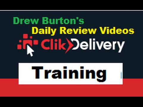 ClickDelivery Training Biggest Prelaunch of 2016 Scam ClikDelivery calculator with Drew Burton