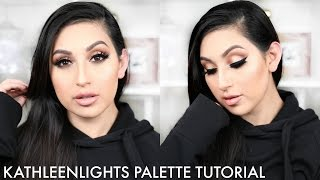 KATHLEENLIGHTS PALETTE TUTORIAL | BRONZE EYES | BEAUTYYBIRD