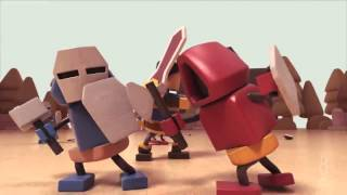 Xem trận chiến Liên Minh Huyền Thoại phiên bản Lego cực chất
