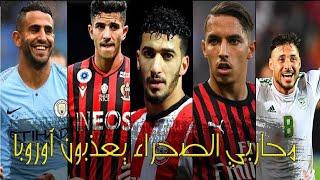 لاعبون جزائريون مشهورين لكنهم محترفون