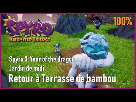 Spyro 3 Year Of The Dragon Jardin De Midi Retour à