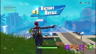 Getting Tactical Nukes *FIRST* Ever Win (Fortnite: Battle Royale)
