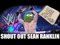 SEAN RANKLIN GETS SHOUT OUT ON  LIVE TV WWE!