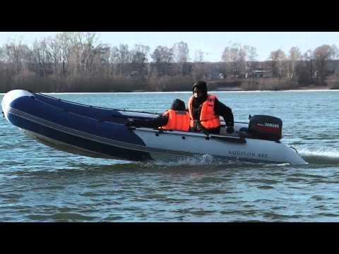 Надувная моторная лодка пвх с дном низкого давления Аквилон (Aquilon) 006