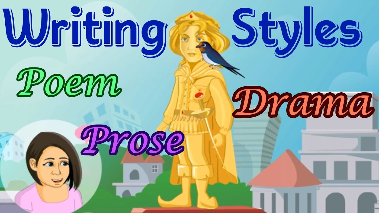 hight resolution of forms of writing poem drama prose differences fun educational activities for children youtube
