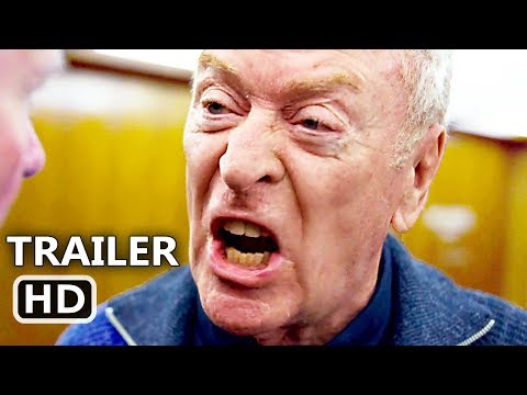KING OF THIEVES   2 NEW 2018 Michael Caine, Charlie Cox, Heist Movie HD