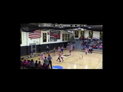 Saint Rose Women's Basketball Highlights vs  New Haven   Feb  10, 2018