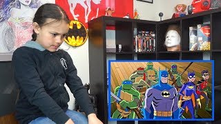 BATMAN VS. TEENAGE MUTANT NINJA TURTLES Trailer REACTION