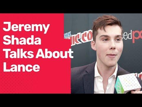 Jeremy Shada talks about Lance in Voltron Season 2