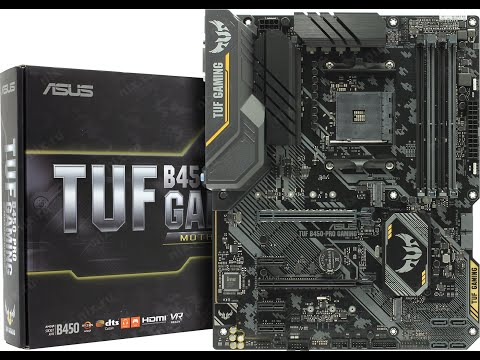 Материнська плата Asus TUF B450-Pro Gaming (sAM4, AMD B450, PCI-Ex16)
