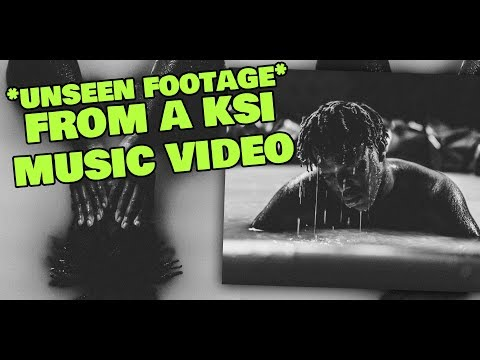 UNSEEN Footage From A KSI Music Video