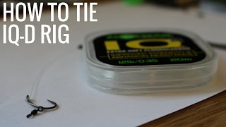 IQ-D RIG - HOW TO TIE - CARP FISHING - RIGS