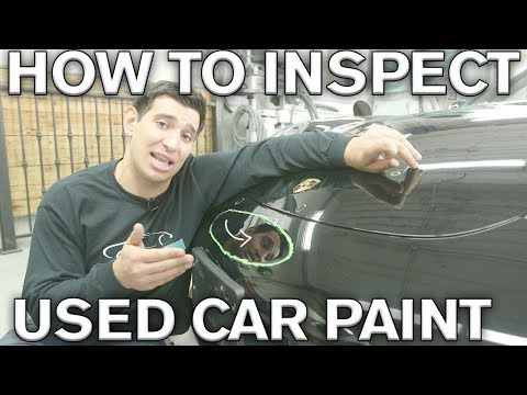 Was Your Car Repainted? 8 Dead Giveaways You Have New Car Paint