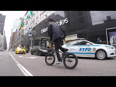 DailyCruise 5: Security and Snow (NYC BMX)
