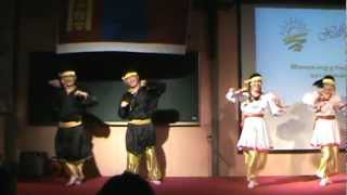 mongol bujig myangad Kangwon national university Mongol dance team
