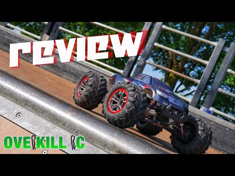 REVIEW of the Hosim 9125 SPRINT 4x4 1/10 RTR R/C Monster Truck | My Unbiased Thoughts | Overkill RC