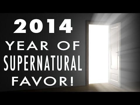 2014 Year of Supernatural Favor! | Kynan Bridges | It's Supernatural with Sid Roth