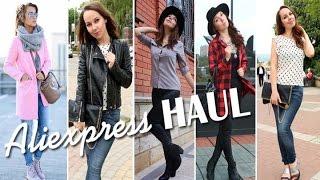 Fashion HAUL - Одежда, Аксессуары, Обувь с Aliexpress, NewDress. Фитнес Одежда и Аксессуары