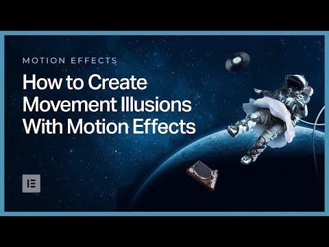 How to Create an Image Movement Illusion in Elementor