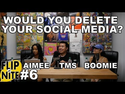 FLIP@NITE #6 - FT TMS, AIMEE, BOOMIE & NIA - FANS CALL IN TO & THINGS GET CRAZY
