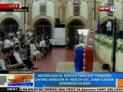 necrological service Gma-7 executives also gave their eulogies to kuya germs, as moreno is known  in showbiz, during necrological service for the master.