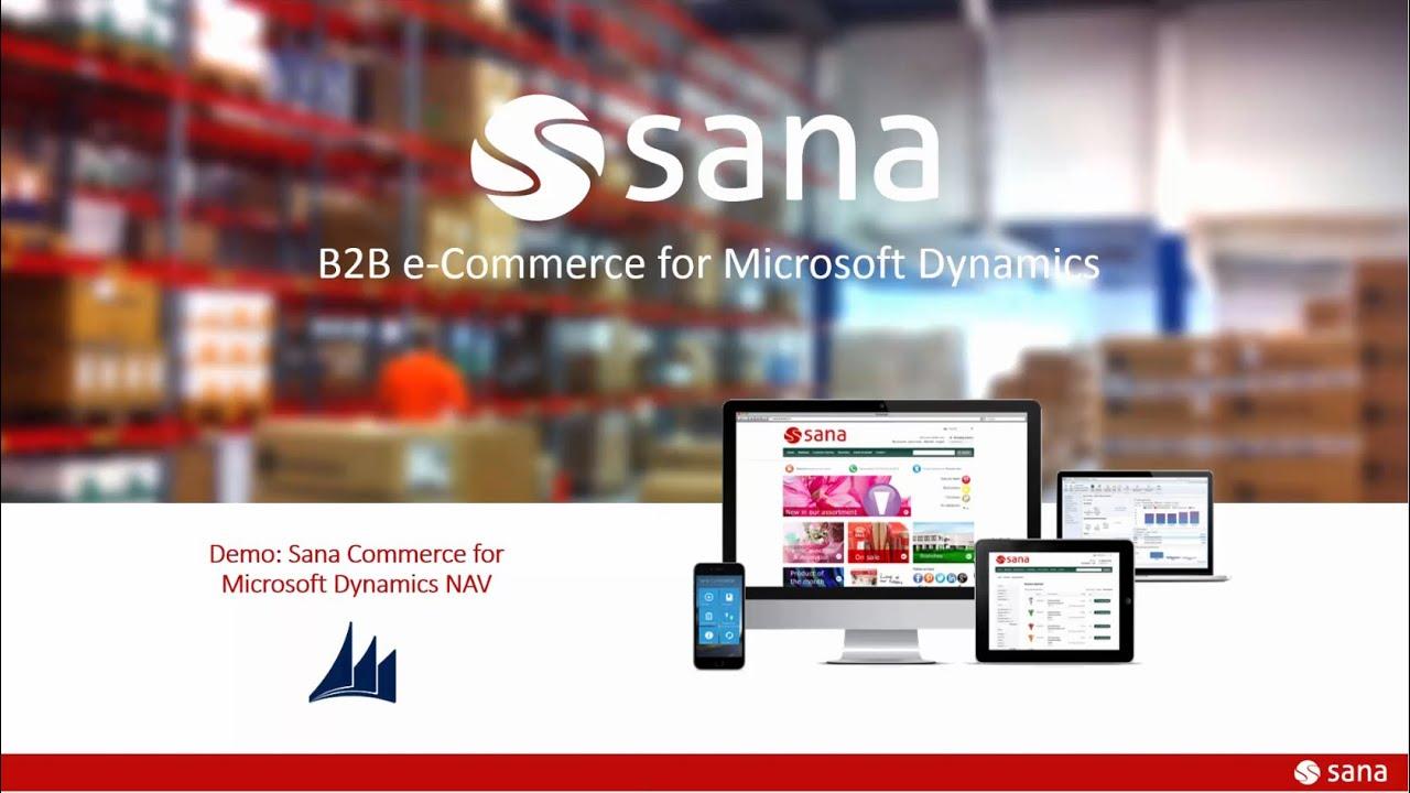 Sana Commerce NAV Integration Demo (3 min) - YouTube