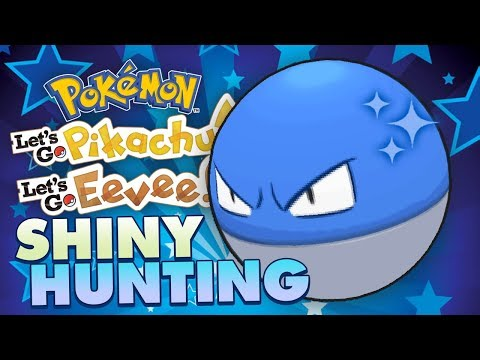 LIVE SHINY VOLTORB HUNTING! Pokemon Lets Go Pikachu & Eevee Shiny Hunting Live w/ FeintAttacks!