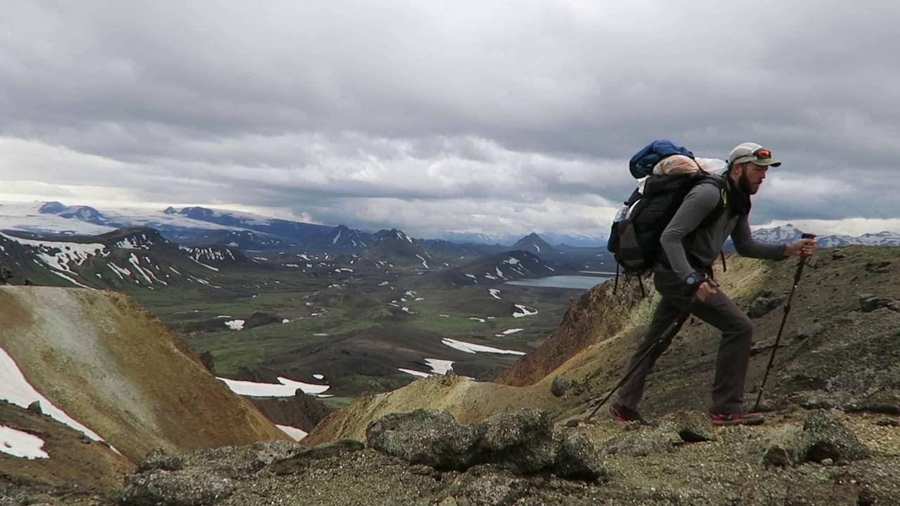 Hiking across Iceland 2016