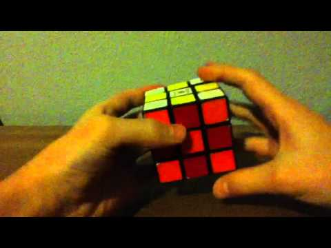 How to make a checkerboard pattern on your rubik's cube