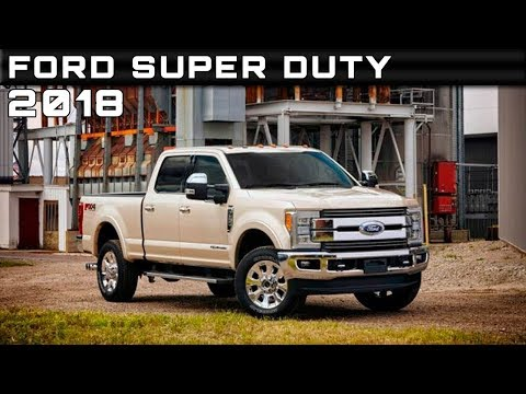 WATCH NOW!! 2018 FORD SUPER DUTY COLORS