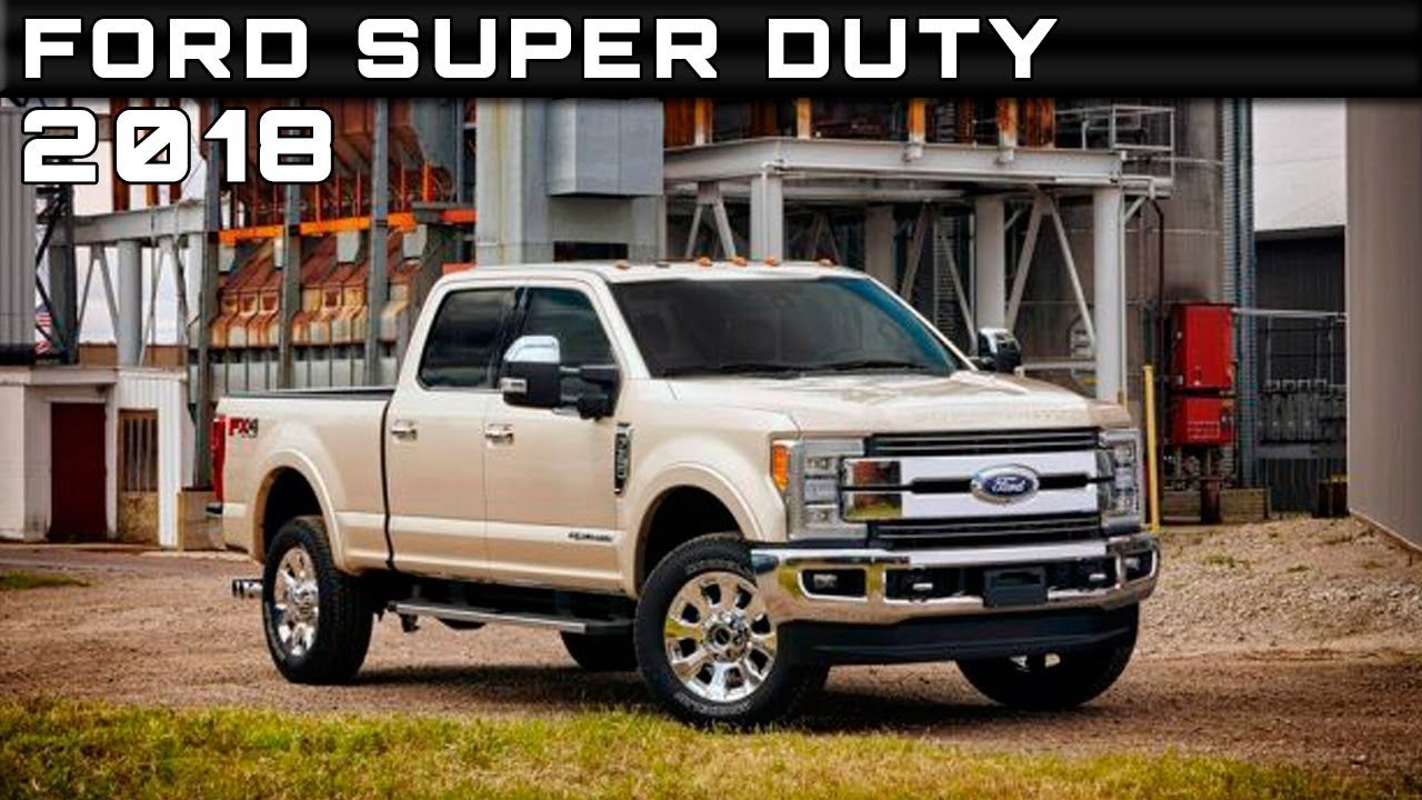 2018 Ford Super Duty Colors