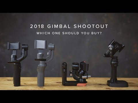 2018 GIMBAL SHOOTOUT | OSMO 2 vs Freefly Movi vs Smooth Q