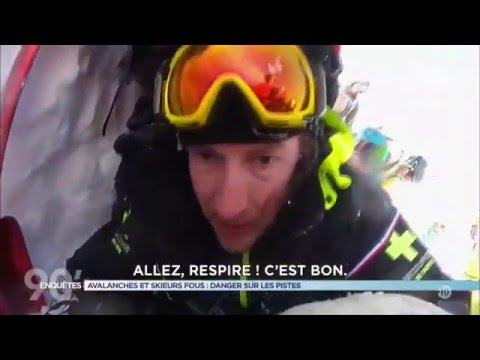 Avalanche / Rescue ::: GoPro POV Meribel, 3 Vallees, France