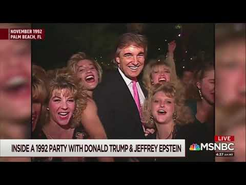 <i>Morning Joe </i>releases footage of Trump with Jeffrey Epstein at Mar-a-Lago