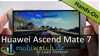 Test Huawei Ascend Mate 7: Details zu Display, Akku & Co.