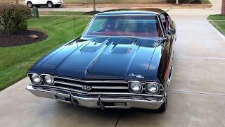 1969 Chevelle SS - True Matching Numbers SS - For sale at www.bluelineclassics.com